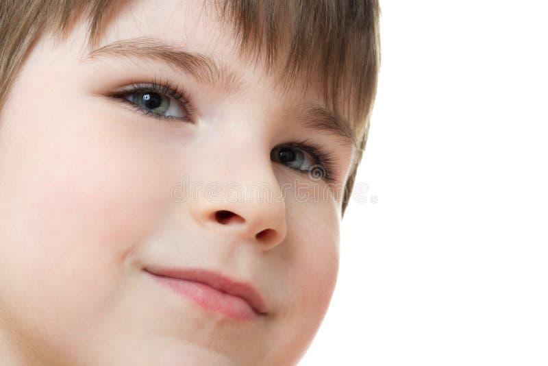 逗人喜爱的男孩 免版税库存图片