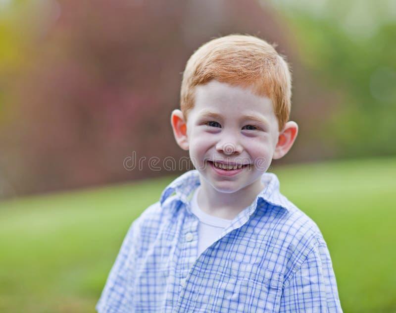 逗人喜爱的男孩 库存照片