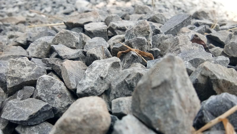 逗人喜爱的石头 库存照片