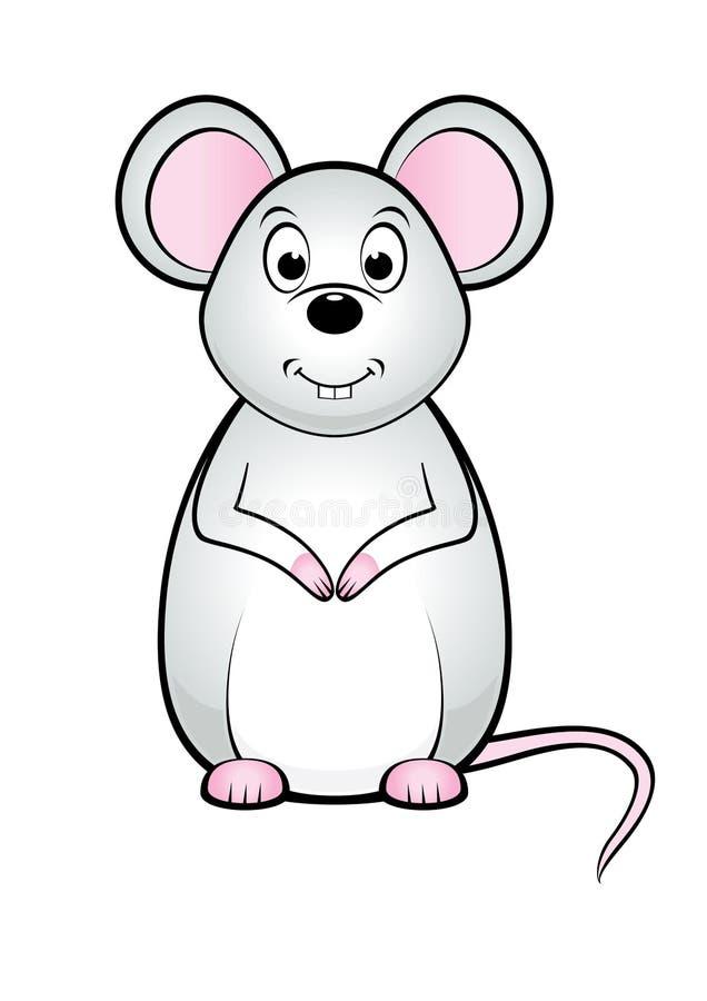 逗人喜爱的鼠标 图库摄影