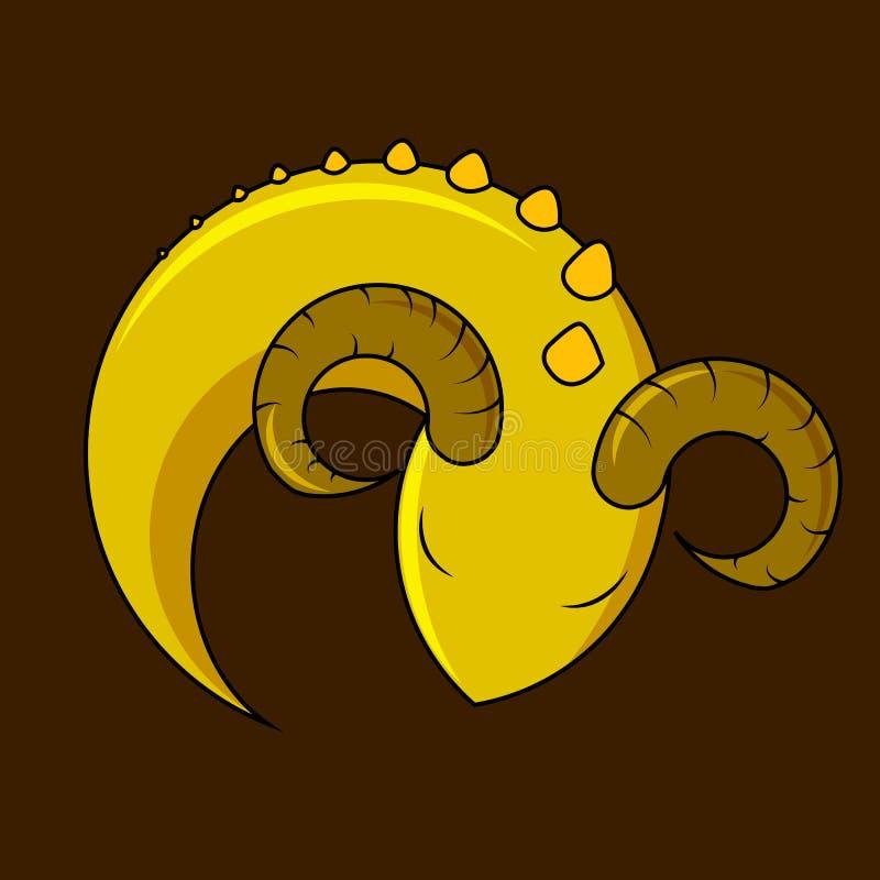 逗人喜爱的龙` s象,传染媒介 向量例证