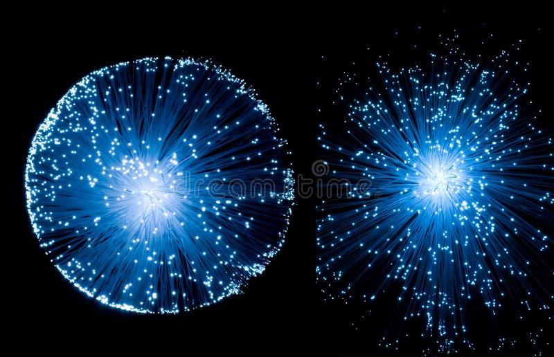 通信光纤 库存例证