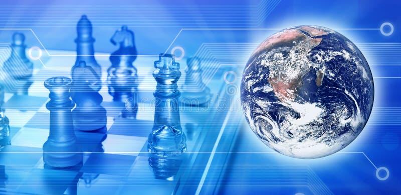 通信全球技术 皇族释放例证