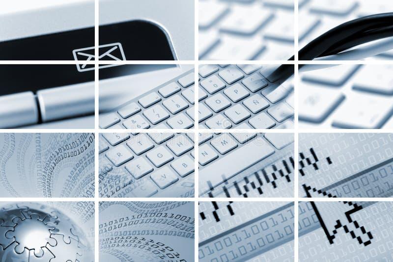 通信构成技术 免版税库存照片