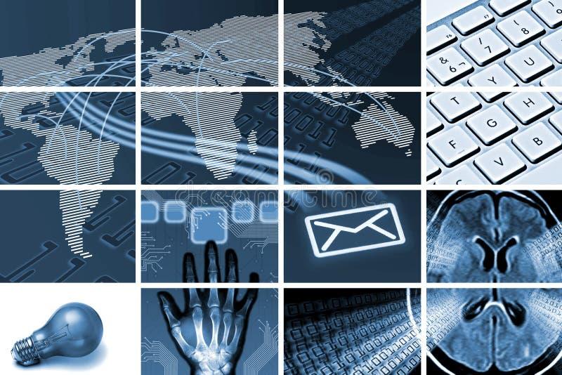 通信构成技术 免版税库存图片
