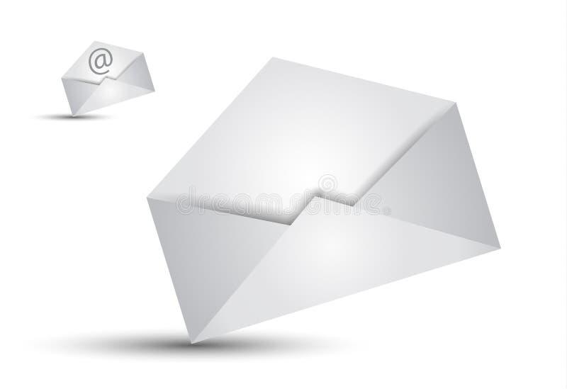 通信概念电子邮件illustations 向量例证