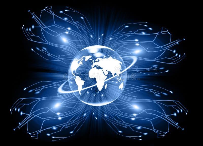 通信电子重要性 向量例证