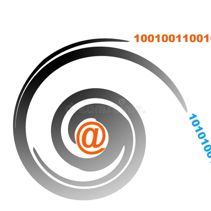 通信符号 库存例证