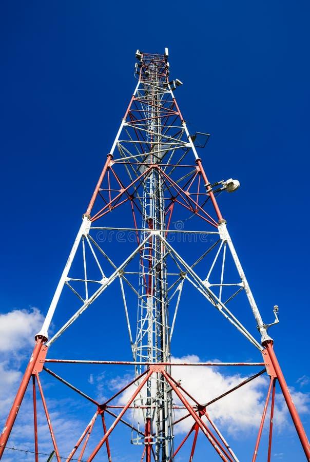 通信GSM塔,罗马尼亚 免版税库存图片