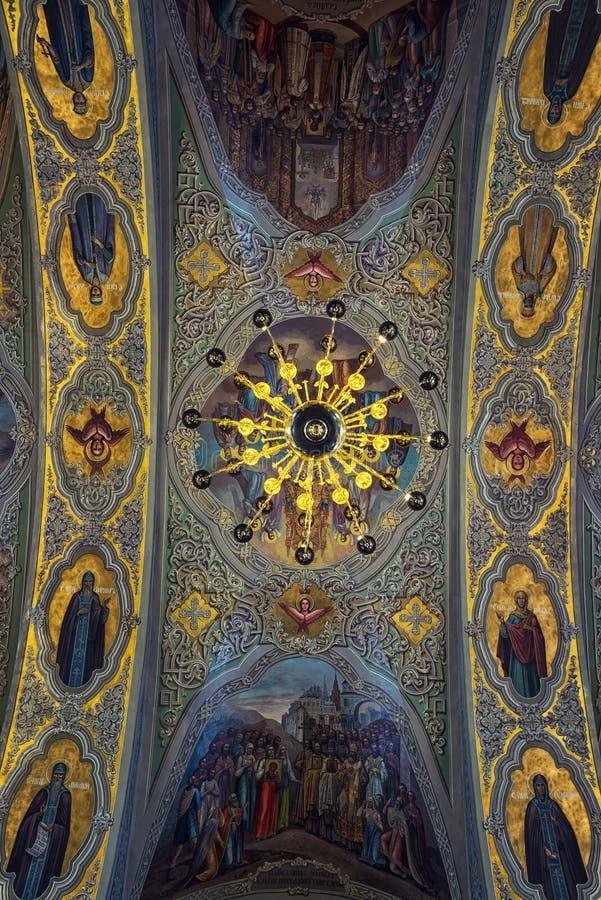通告大教堂在喀山,克里姆林宫 免版税库存图片