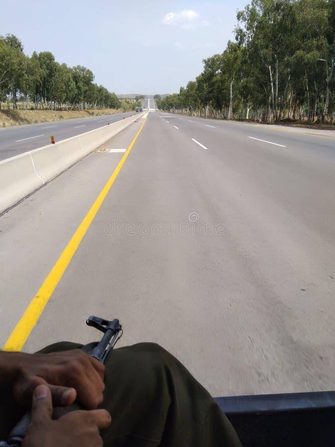 通往伊斯兰堡的道路 免版税库存照片