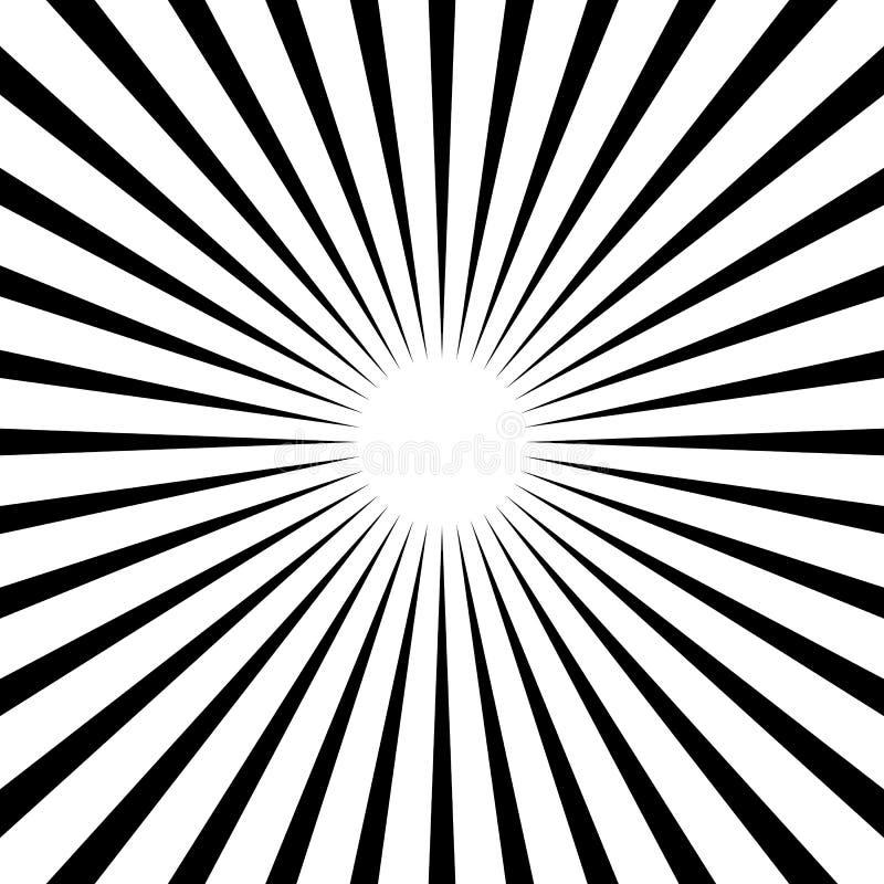 通报,条纹线几何样式 单色illustrati 皇族释放例证
