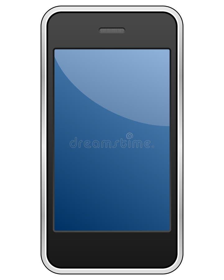 通用smartphone 皇族释放例证