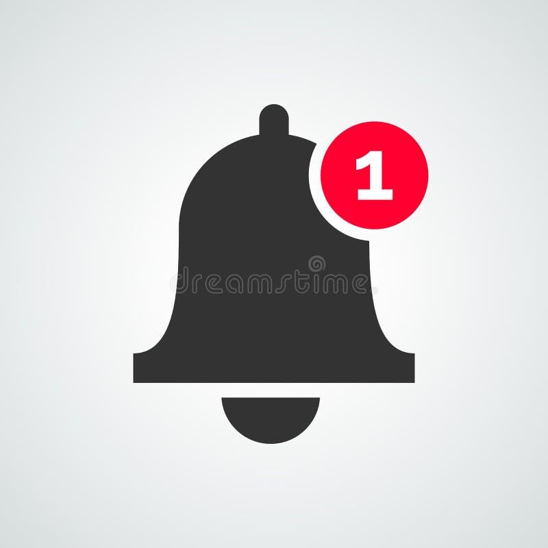 通知响铃象传染媒介inbox消息 向量例证