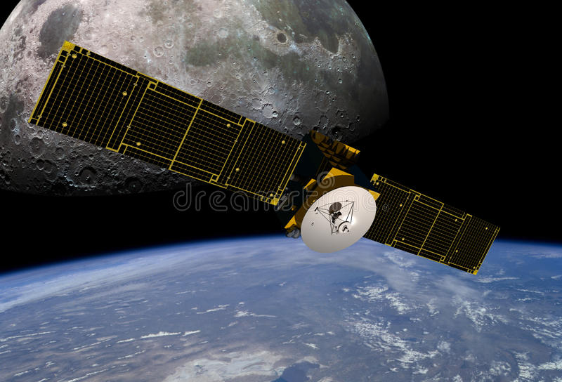 通讯卫星 免版税库存照片