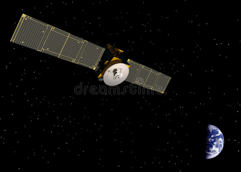 通讯卫星 库存照片