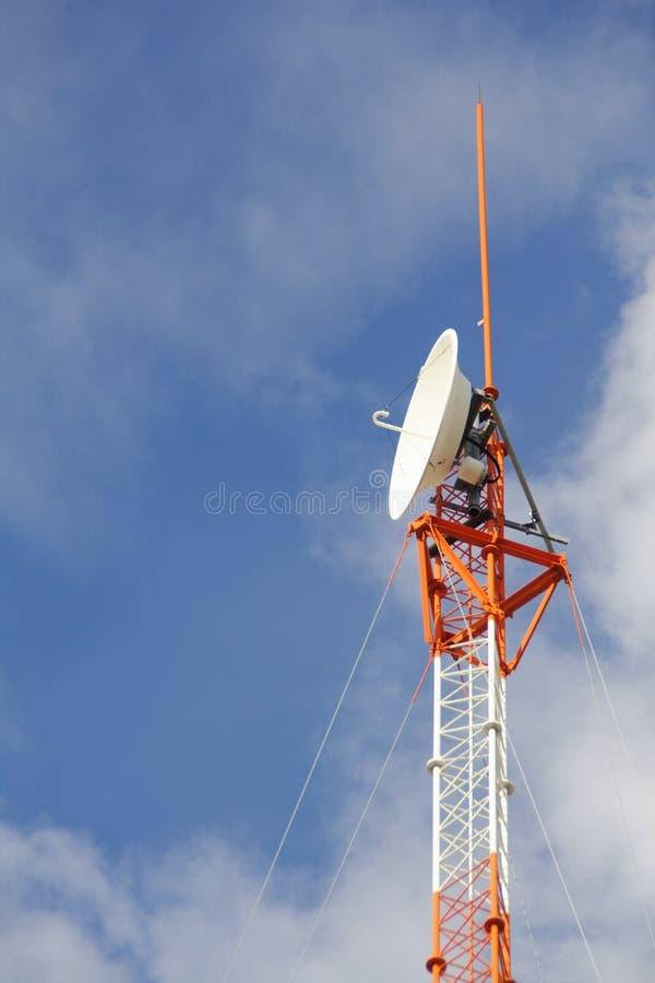 通讯工具-细胞塔天线 免版税图库摄影