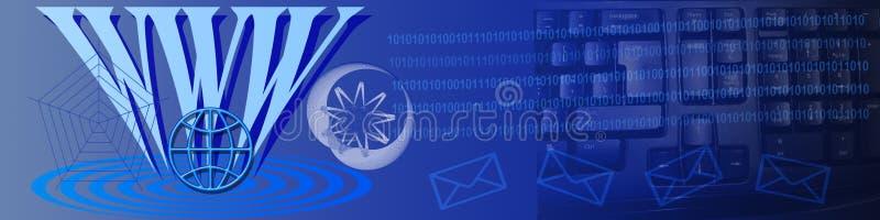 通讯技术ww 向量例证