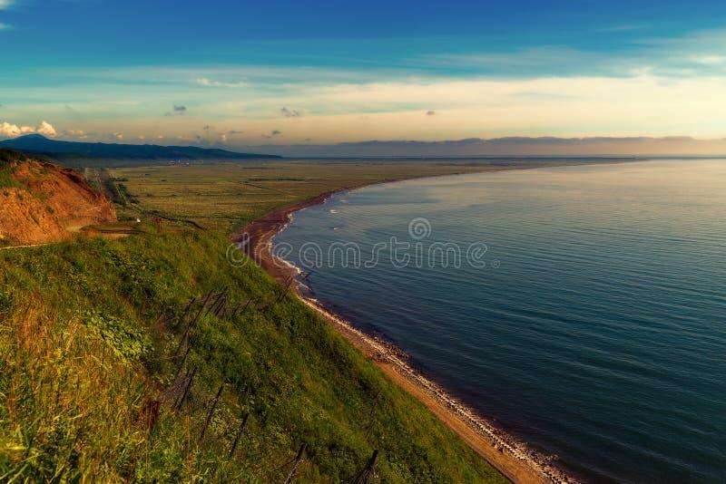 通过 chekhov 萨哈林岛 免版税库存图片