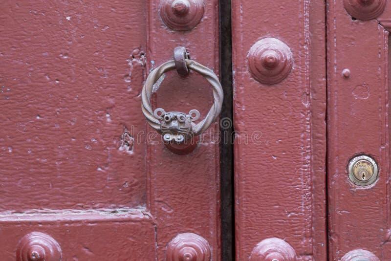 通道门环,库斯科,秘鲁 免版税库存图片