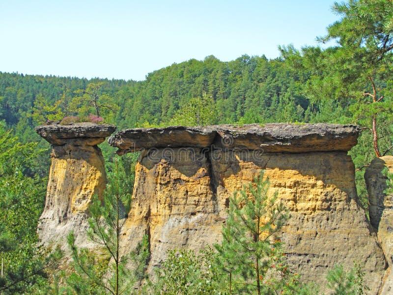 通配本质的岩石 库存图片