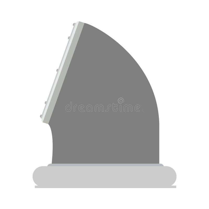通风孔技术设计工业装置hvac传染媒介平的象 库存例证
