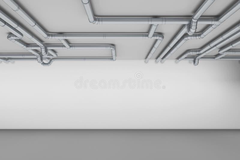 通风管道管子 库存例证
