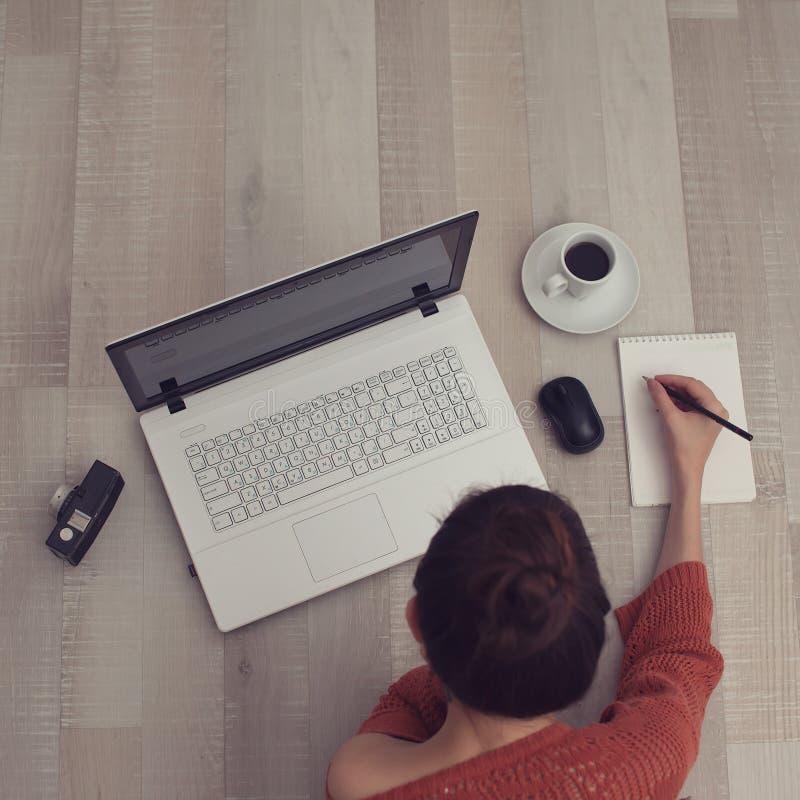 速写妇女 免版税图库摄影