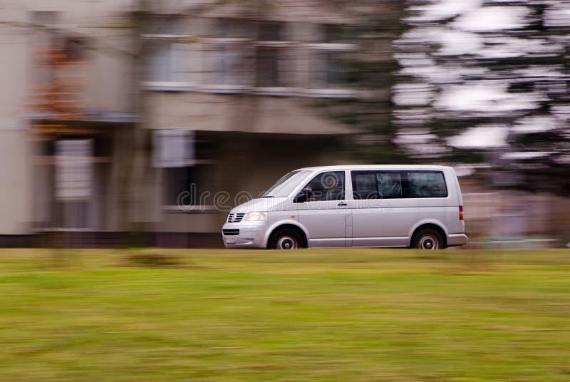 速度有篷货车 免版税图库摄影