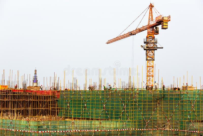 建造场所在中国 库存图片