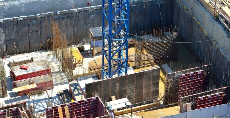 建造场所细节 库存照片