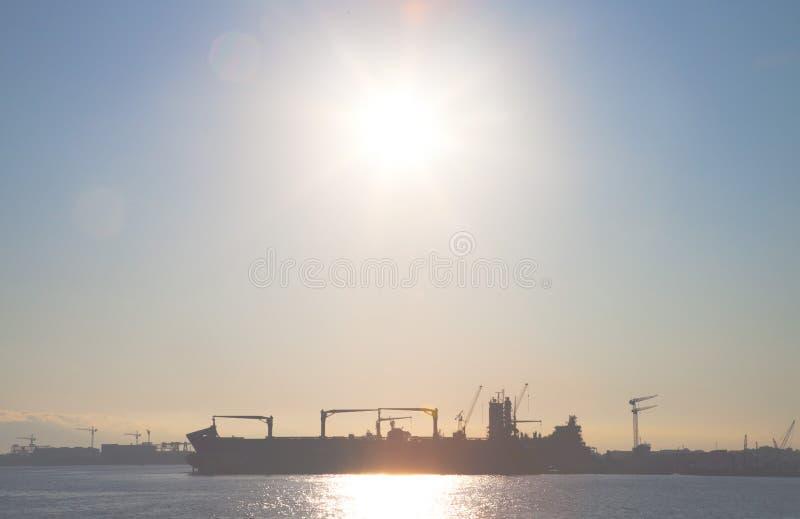 造船厂 免版税图库摄影