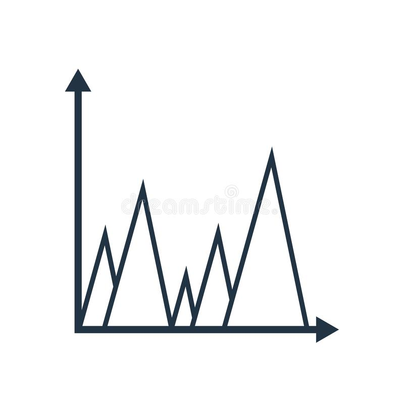 逻辑分析方法在白色背景隔绝的象传染媒介,逻辑分析方法标志 向量例证