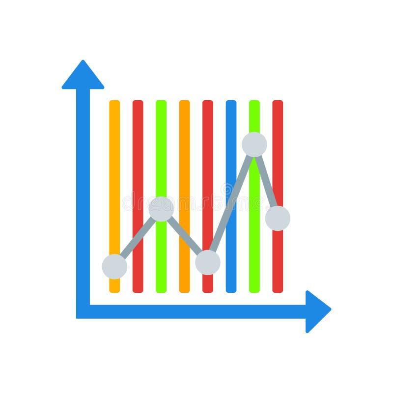 逻辑分析方法象在白色背景和标志隔绝的传染媒介标志 向量例证