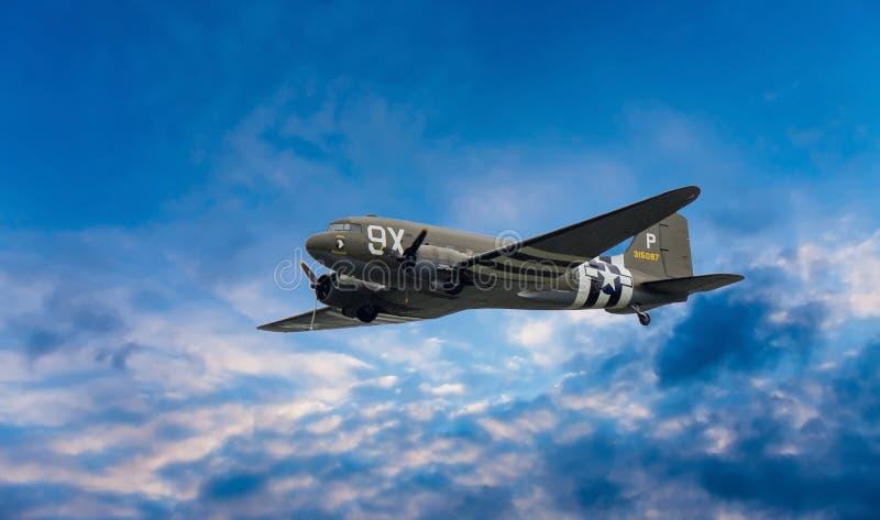 道格拉斯·达科塔C-47飞机315087 免版税库存图片