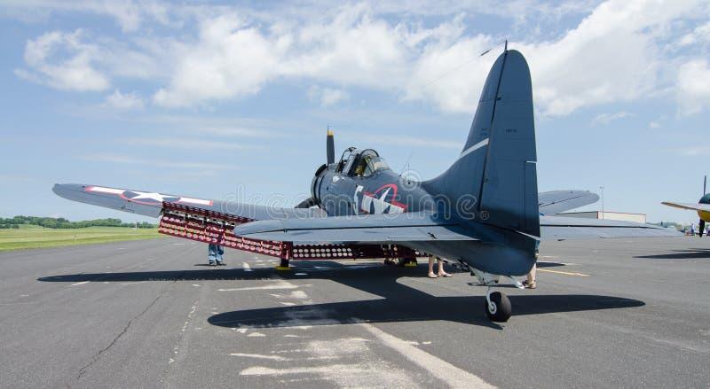 道格拉斯大胆的俯冲轰炸机 库存图片