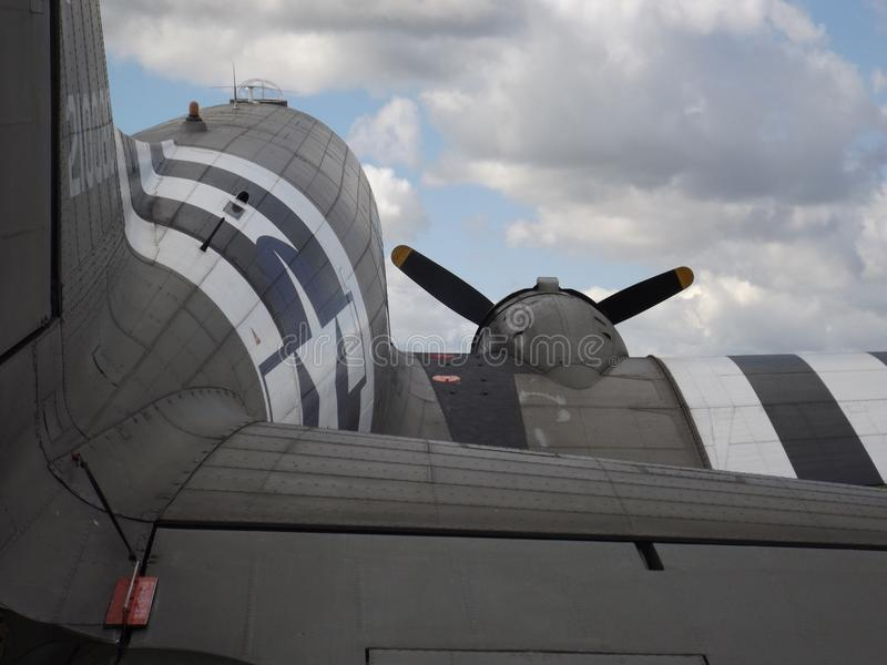 道格拉斯达可它C-47 Skytrain 库存照片