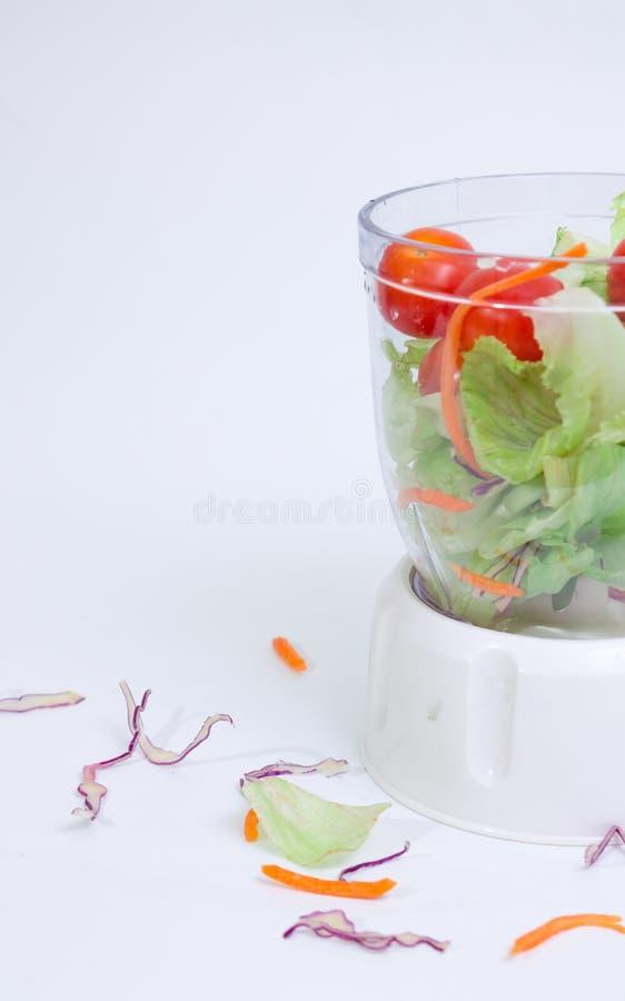 1道蔬菜沙拉 库存图片