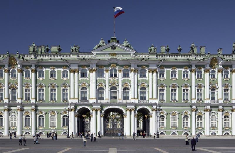 遗产彼得斯堡俄国st 免版税库存图片