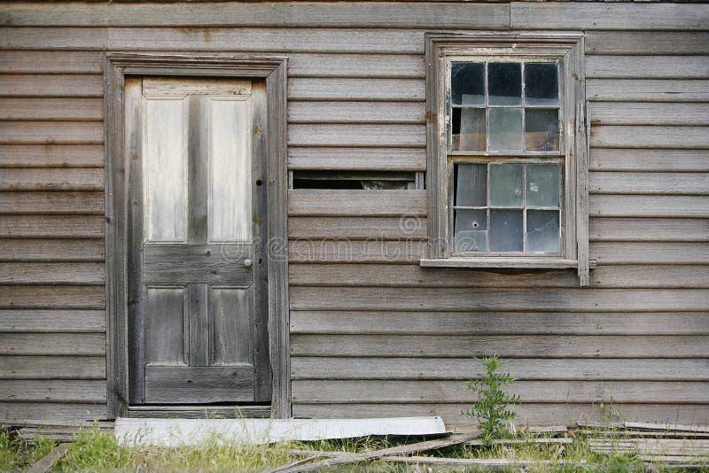 遗弃之家 库存照片