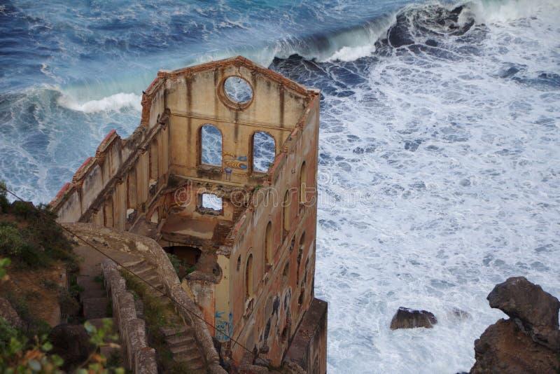 遗弃修造的特内里费岛 免版税库存照片