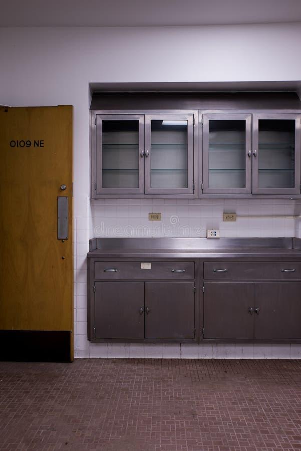遗弃太平间-被放弃的退伍军人医院-匹兹堡,宾夕法尼亚 库存照片