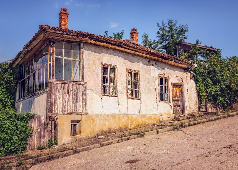 遗弃房子 免版税库存图片