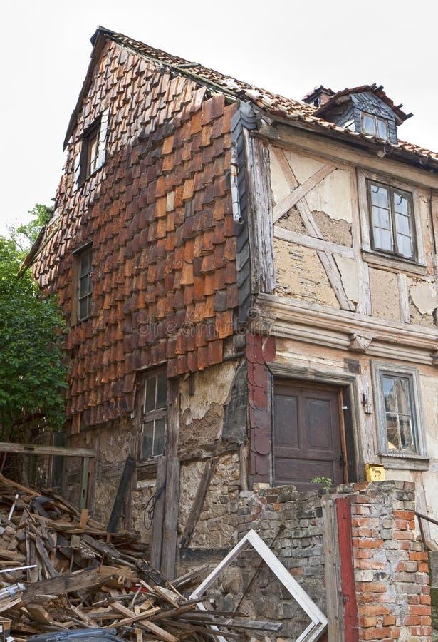 遗弃房子 免版税库存照片