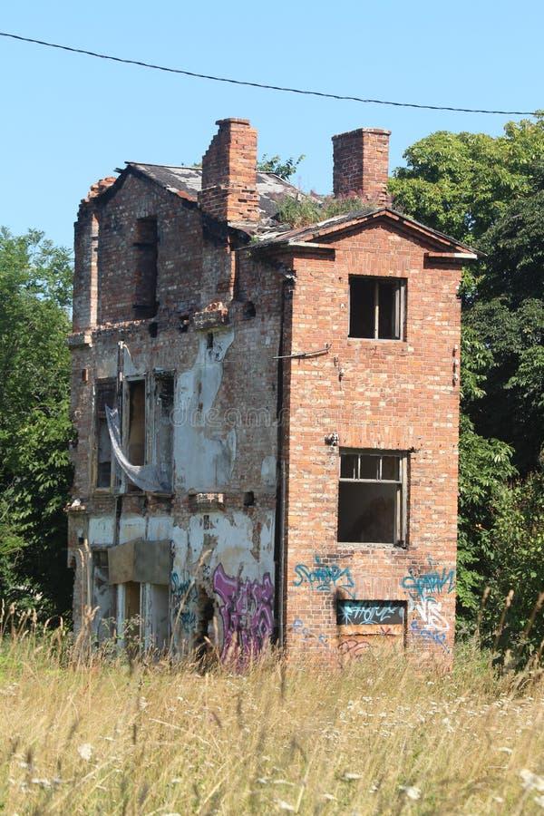 遗弃房子 免版税图库摄影