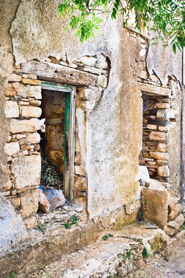 遗弃房子 图库摄影