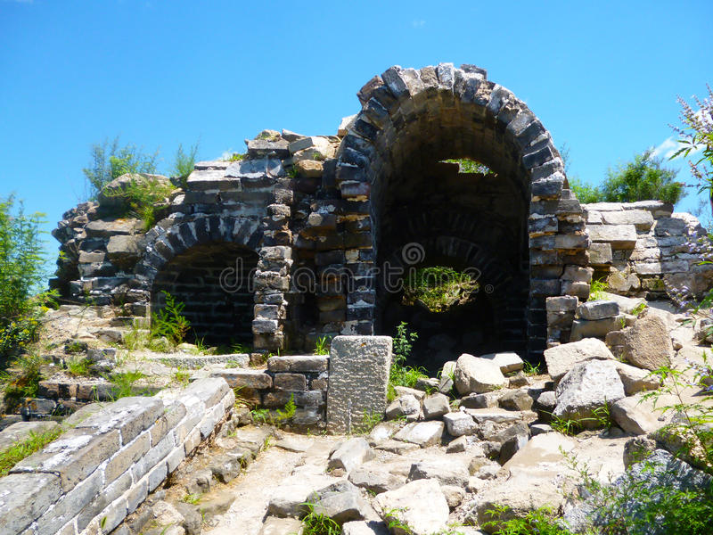 遗弃石结构 免版税库存照片