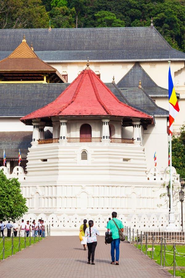 遗物神圣的寺庙牙 库存图片