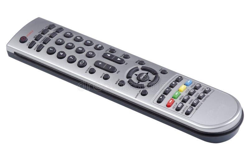 遥控数字式的电视和的DVD 库存照片