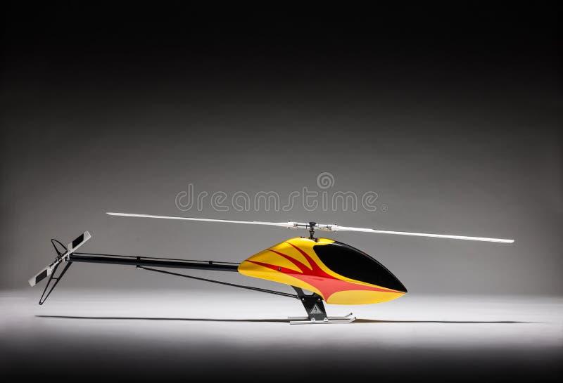 遥控直升机的典雅的图片 免版税库存图片
